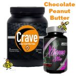 "Crave ""Chocolate"" Whey Protein and Xtreme Slim"