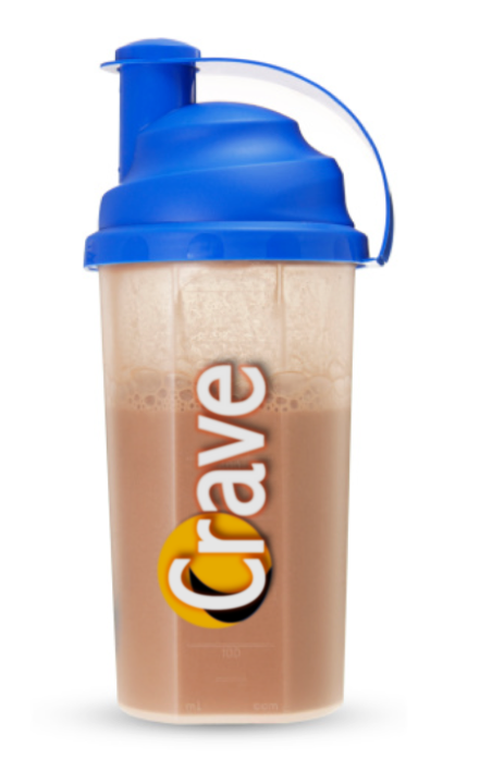 "Crave ""Vanilla"" Whey Protein and Xtreme Slim"